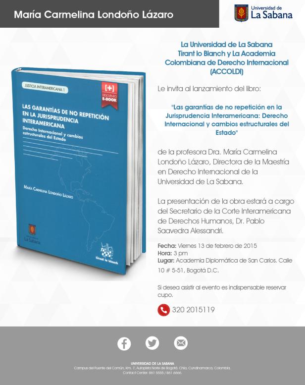 Poster Lanzamiento Libro Maria Carmelina